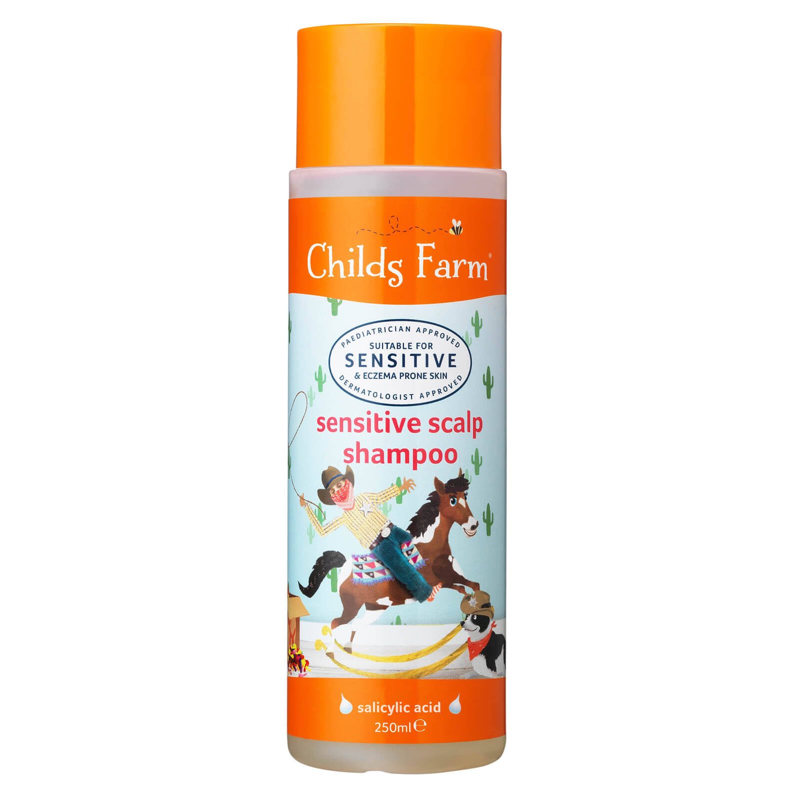 Childs Farm Sensitive Scalp Shampoo - Unfragranced, 250ml