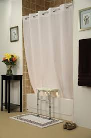 Bathtub Transfer Bench Canada by Bench Buddy Hookless Shower Curtain Simplicity For Tub Transfer