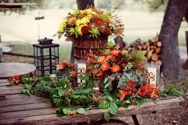 Vibrant Fall Table Decoration