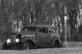 Collection Of Old Cars Along Interstate 94 Draws Looks, Stirs ...
