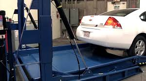 2 Post Car Lift Low Ceiling by Perfect Sized Parking Lift Bendpak Plt 6s Demo Youtube