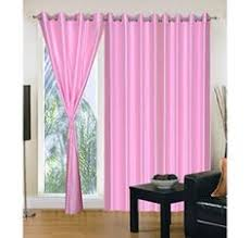 shop online curtains in purple heavy crush material set of 2