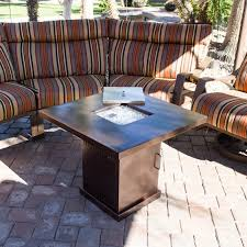 Amazon.com: Belleze Gas Outdoor Fire Pit Glass Table With Hammered ... Red Ember San Miguel Cast Alinum 48 In Round Gas Fire Pit Chat Exteriors Awesome Backyard Designs Diy Ideas Raleigh Outdoor Builder Top 10 Reasons To Buy A Vs Wood Burning Fire Pit For Deck Deck Design And Pits American Masonry Attractive At Lowes Design Ylharriscom Marvelous Build A Stone On Patio Small Make Your Own