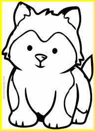 Husky Coloring Pages Inspirationa Marvelous Siberian Cool