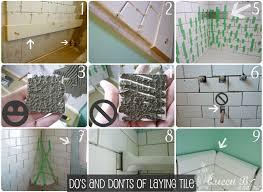 subway tile diy tutorial