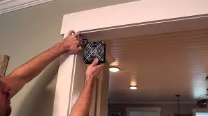 Exhaust Fans For Bathroom India by Room To Room Ventilation Fan Youtube