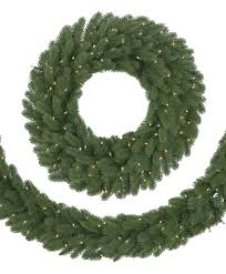 9 Fraser Fir Artificial Christmas Tree by Classic Fraser Fir Christmas Wreath U0026 Garland Tree Classics