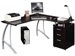 bureau angle noir bureau antinoe caisson 3 tiroirs noir ou blanc