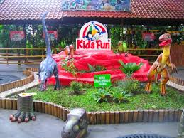 Yogyakarta Kids Fun Recreation Area Children An Enjoyable