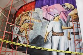prepara cusur mural inspirado en obra de clemente orozco