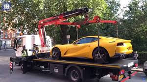 100 Do You Tip Tow Truck Drivers See Karma In Action As Illegally Parked Ferrari Gets Ed