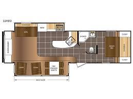 Montana 5th Wheel Floor Plans 2015 by Avenger Travel Trailer Rv Sales 18 Floorplans