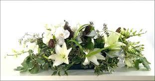 Dining Room Table Floral Arrangements Centerpiece Flowers Decor Without Fl