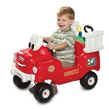 100 Fire Truck Cozy Coupe Little Tikes Spray Rescue Foot To Floor Ride On
