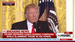 What Is A Muslim Prayer Curtain by Donald Trump U0027the Leaks Are Absolutely Real The News Is Fake