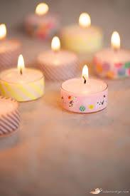 Halloween Washi Tape Ideas by 10 Ways To Washi Washi Tape Washi And Tea Light Candles