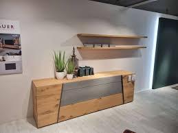 voglauer sideboard wandboards wildeiche rustico schwarz beton akzente wohnzimmer xxxlutz heilbronn