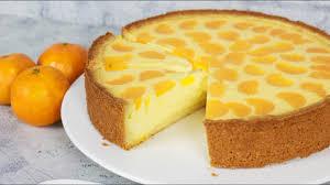 käsekuchen mit mandarinen faule weiber kuchen quarkkuchen