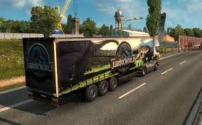 Jurassic World Combo Pack | ETS 2 Mods - Euro Truck Simulator 2 ... The Worlds First Selfdriving Semitruck Hits The Road Wired Fluidalls Event And Tradeshow Calendar Tractor Trailer For Children Kids Truck Video Semi Youtube Aerodynamic Box Images Fruehauf Cporation Wikipedia American Simulator Trucks Cars Download Ats Truth About Towing How Heavy Is Too A Special Mack Is Back Evel Knievel Combo Moves Closer To Its Great West Truck And Trailer Finishes As The Number One Bloomer World Record Jump Moving Lotus F1 Car Rc Scale Truck With Trailer Transport Opts Recovery Body