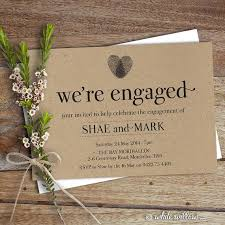 Diy Engagement Party Invitations Invites Haskovo