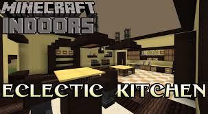 Minecraft Kitchen Ideas Youtube by Eclectic Kitchen In Yellow Minecraft Indoors Interior Design