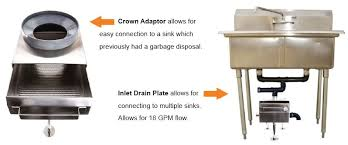 wet waste interceptors and food scrap drain strainers for