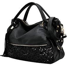coofit sac à femme sac bandoulière pu cuir sac porté épaule