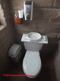 waterless toilets for the home zero water water saving toilets pictured is the tank top sink