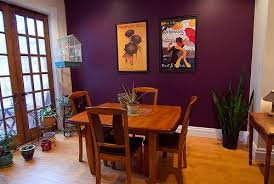 Purple Accent Wall Love This Looks Just Like The In My Living Room Now