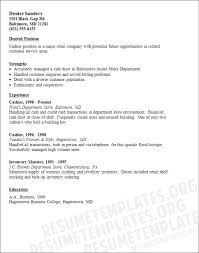 Retail Store Cashier Resume Sample Examples Template