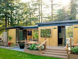 Meet One Of Our Favorite Prefab Homes In California - Sunset I Love The Idea Of A Motherinlaw Suite So That My Grandma Could Decoration Kanga Room Systems Modern Modular Cabins Tiny Cottage Prefab Sunset Homes Set On Stilts Cool New Youtube Hummingbird Custom Home Studio Summerstyle 11 Best Backyard Office Images Pinterest Office For Your Inspiration Timbercab Prefab Timber Framed Cabin Fcab Small House Bliss