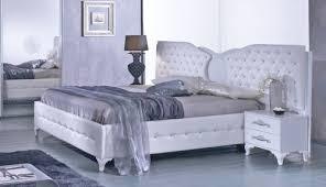 schlafzimmer analisa in weiss silber modern