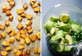 Picture Of Pumpkin Throwing Up Guacamole by Sweet Potato U0026 Black Bean Tacos Recipe Cookie And Kate