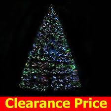 8ft Christmas Tree Ebay by Fiber Optic Christmas Decorations Ebay