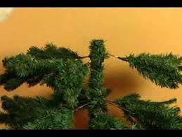 How To Set Up An Artificial Christmas Tree Add Small Branches