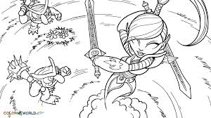 Skylanders Coloring Pages Free To Drawing