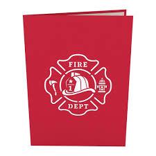 Fire Truck Pop Up Card - Lovepop