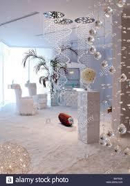 exklusive wohnzimmer in dubai stil stockfotografie alamy
