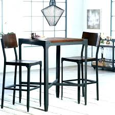 Bistro Kitchen Table Set Bar Style 4 Chairs Pub Height And Outdoor Chair Sets