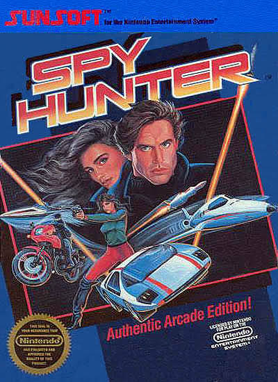 Spy Hunter - Nes Nintendo