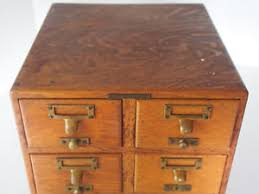 library bureau antique library bureau sole makers oak 6 drawers cabinet catalogue