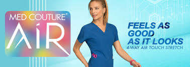 Ceil Blue Scrubs Amazon by Med Couture Fashion Forward Scrubs And Lab Coats For Health Care