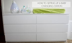 everything emily how to setting up a baby changing station