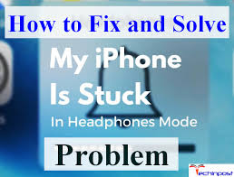 FIXED] iPhone Stuck in Headphone Mode Apple Device Error Issue