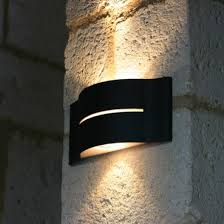 up and outdoor wall light surf terra lumi pertaining to ideas