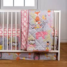 Woodland Creatures Nursery Bedding by Nursery Beddings Woodland Creatures Baby Bedding Plus