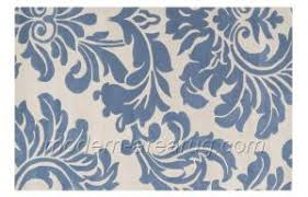 Quality Grey Blue Beige Flower Pattern Wool Area Rug Carpet Custom Design Carpets Rugs