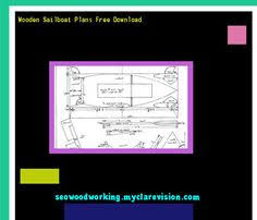 balsa wood rc sailboat plan 121818 woodworking plans and
