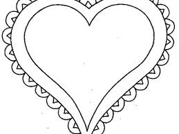 Printable Heart Coloring Pages Me