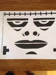Free Frankenstein Pumpkin Stencil Printables by Freesensenews 8 Free Easy Scary Halloween Pumpkin Templates